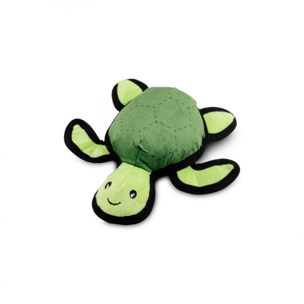 Beco Recycled Soft Turtle Dog Toy