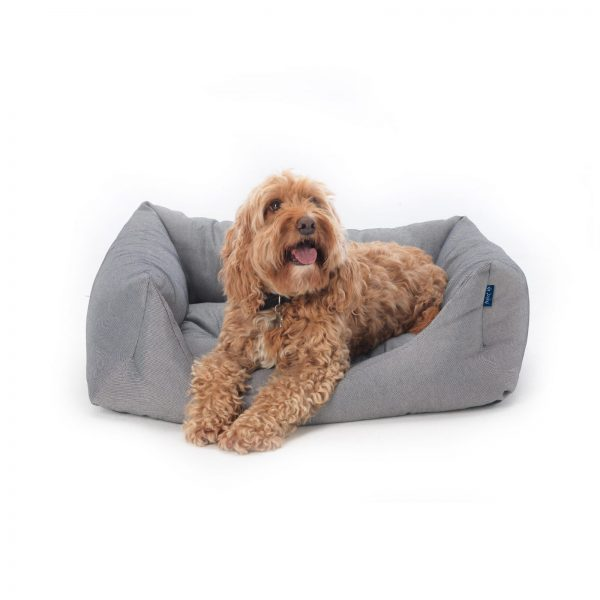 Project Blu Dog Bed from Recycled Plastic Bottles