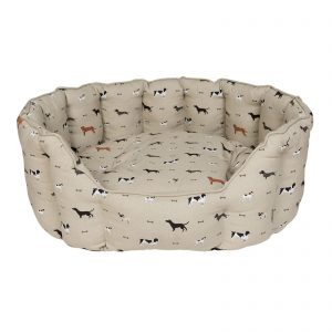 Sophie Allport Woof Dog Bed Washable