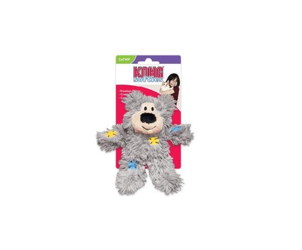 Kong Cat Softies Patchwork Bear